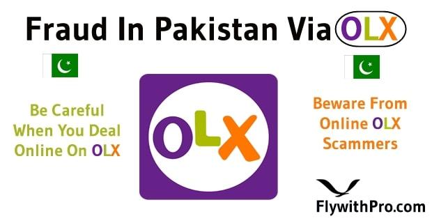 Scam In Pakistan Via OLX
