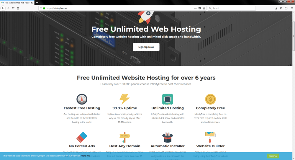 Top 26 Free Website Hosting 2019