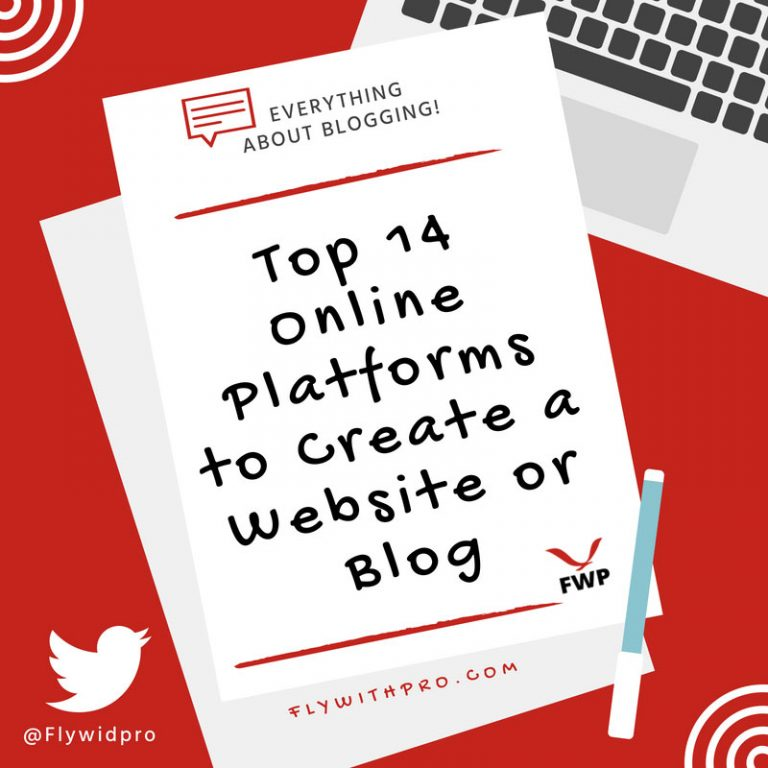 Top 14 Online Platforms to Create a Website or Blog