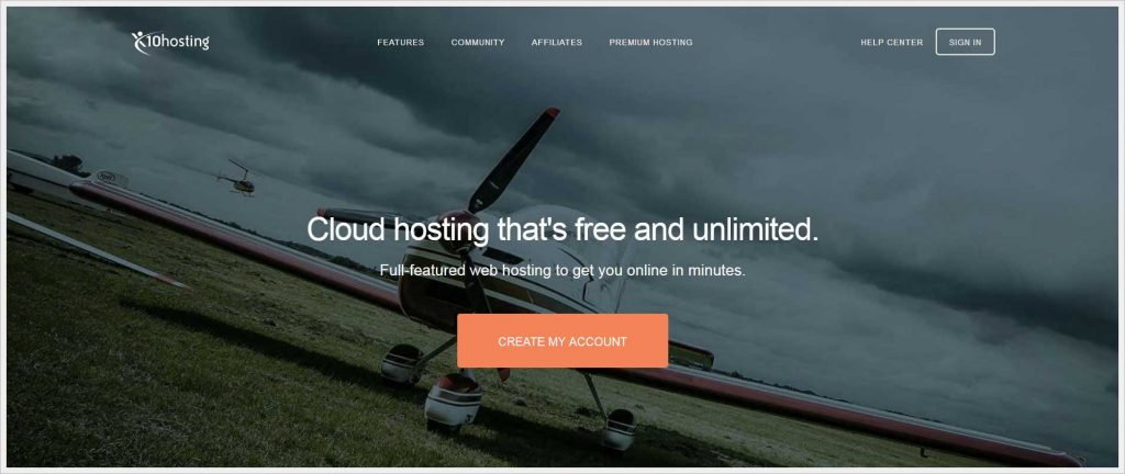 x10hosting.com - free wordpress hosting